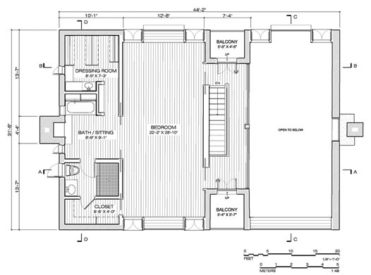 Incroyable Second Floor Plan